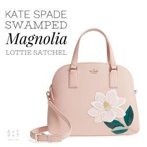 Kate Spade Swamped Magnolia Lottie Satchel